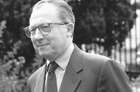 Jacques Delors, L'Europe, une aventure spirituelle